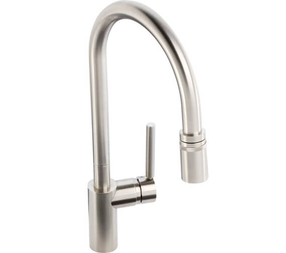 Additional image of Abode Ratio Single Lever Pull Out Kitchen Mixer Tap