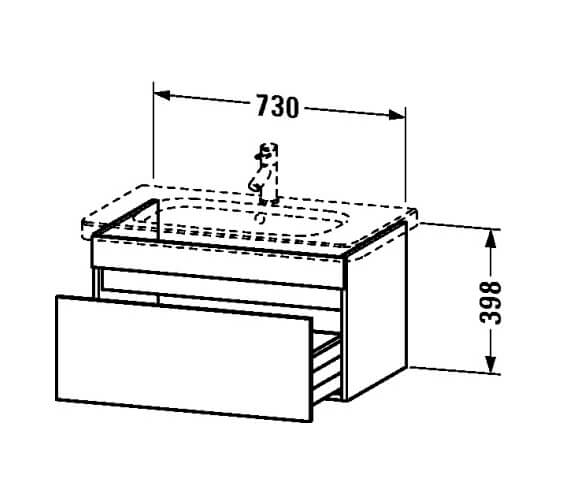 Technical drawing QS-V24971 / DS638001818