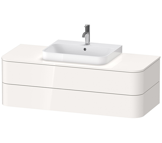 Duravit Happy D.2 Plus 1300 x 550mm 2 Drawers Vanity Unit For Console