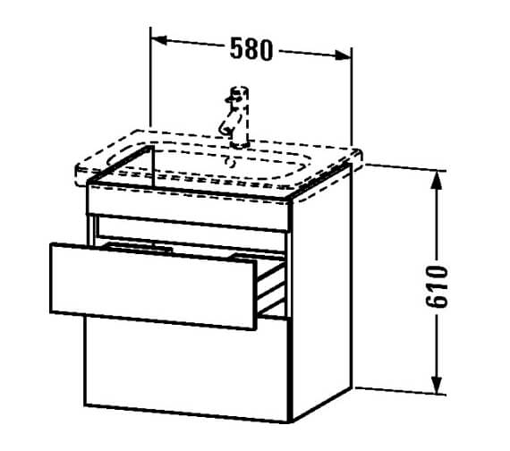 Technical drawing QS-V24985 / DS648001818