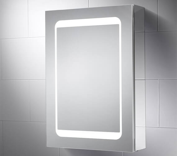 Sensio Belle 500 x 700mm Dual-Lit LED Mirror Cabinet