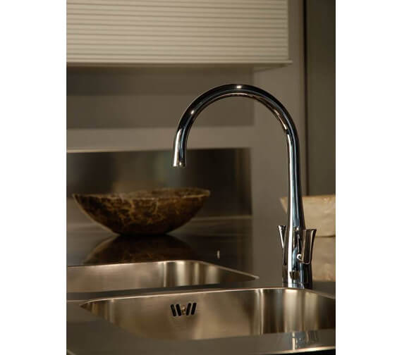 Additional image of Abode Fluid Monobloc Kitchen Mixer Tap