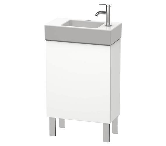 Duravit L-Cube 480 x 240mm Floor Standing Vanity Unit For Vero Air Basin