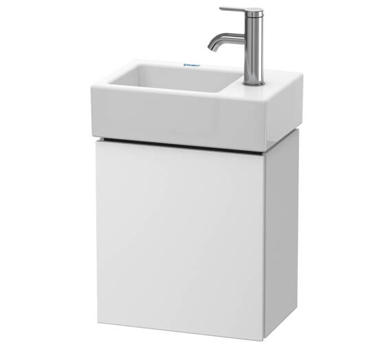 Duravit L-Cube 364mm Wide Wall Mounted Vanity Unit For Vero Air Basin