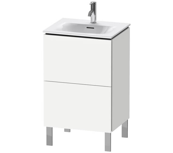 Duravit L-Cube 520mm Floor Standing Vanity Unit For Viu Basin