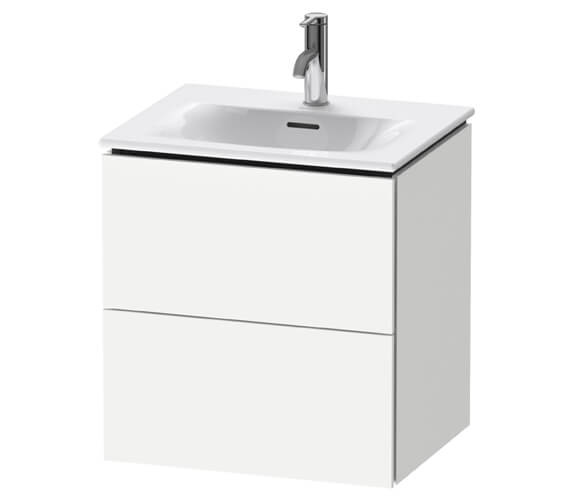 Duravit L-Cube Wall Mounted 520mm 2 Drawer Vanity Unit For Viu Basin
