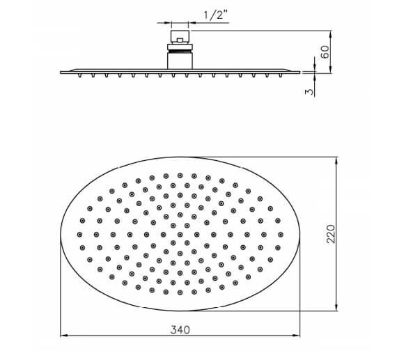 Technical drawing QS-V79829 / AB2470
