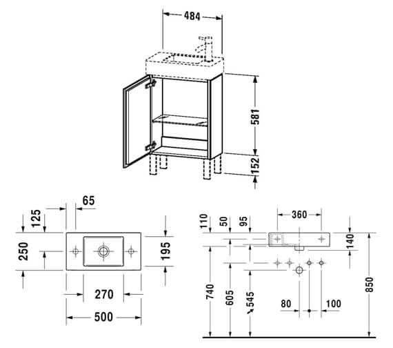 Technical drawing QS-V101258 / LC6751L1818