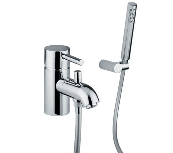 Abode Harmonie Monobloc Bath Shower Mixer Tap With Diverter And Shower Handset
