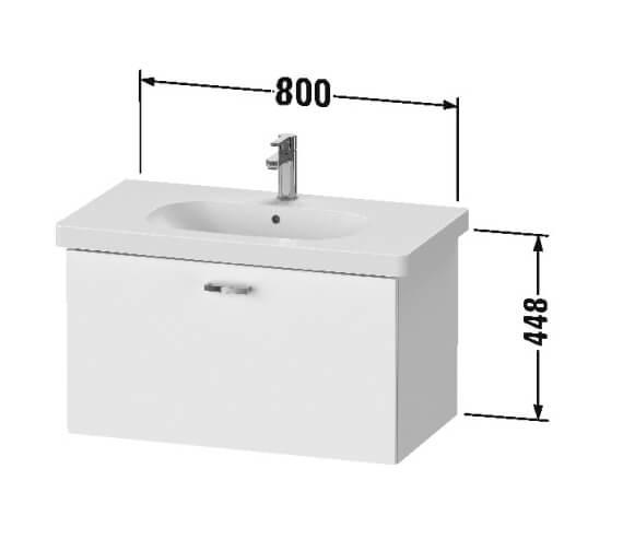 Technical drawing QS-V101245 / XB607001818