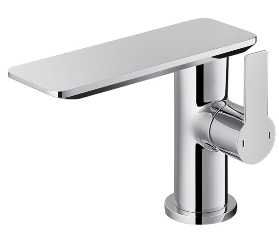 Flova Spring Single Lever Basin Mixer Tap With Clicker Waste