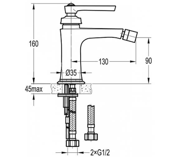 Technical drawing QS-V101029 / LIBID