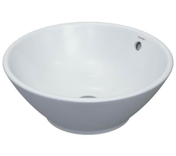 Duravit Bacino 420mm Round Countertop Wash Bowl - 325420000