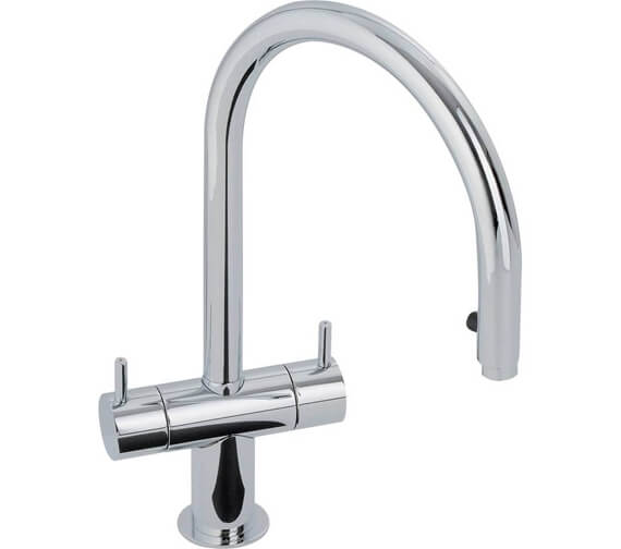 Abode Hesta Pull Out Kitchen Mixer Tap