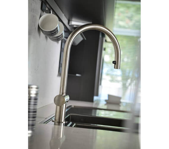 Additional image of Abode Hesta Pull Out Kitchen Mixer Tap