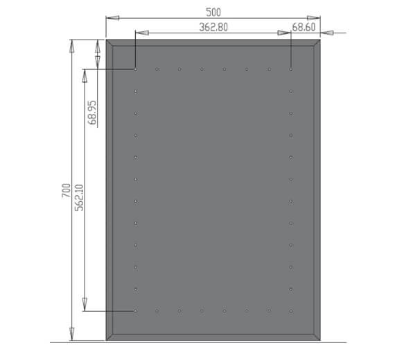 Technical drawing QS-V21317 / MI012