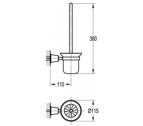 Technical drawing QS-V101026 / LI8990