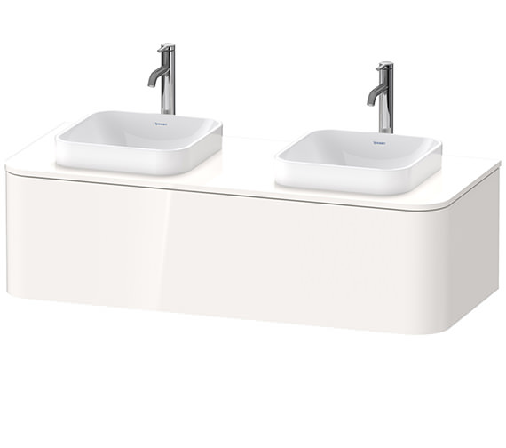 Duravit Happy D.2 Plus 1300 x 550mm Vanity Unit For Console With 1 Pull-Out Compartment