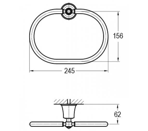 Technical drawing QS-V89465 / LI8985