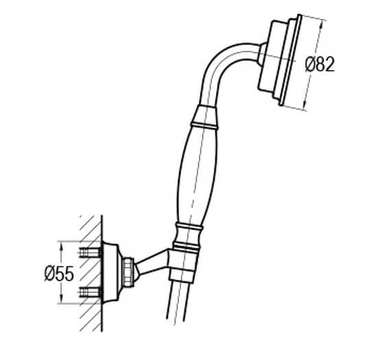 Technical drawing QS-V101037 / LISK