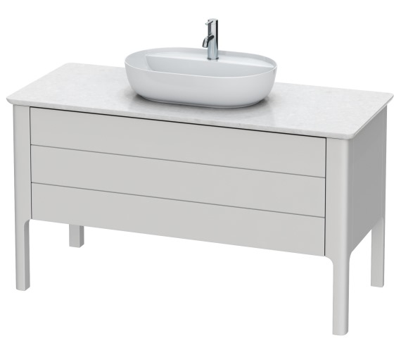 Duravit Luv 1338 x 570mm 1 Compartment And 1 Drawer Vanity Unit