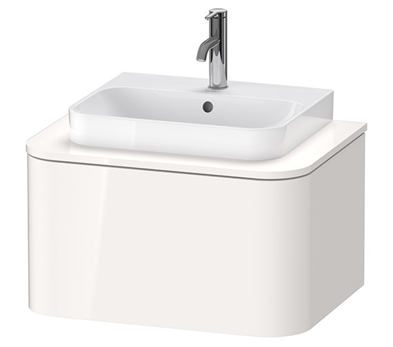 Duravit Happy D.2 Plus 650 x 480mm Vanity Unit For Console With 1 Pull-Out Compartment