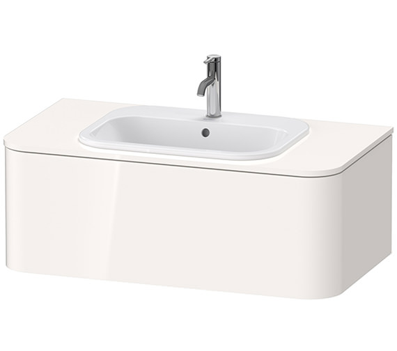 Duravit Happy D.2 Plus 1000 x 550mm Vanity Unit For Console With 1 Pull-Out Compartment