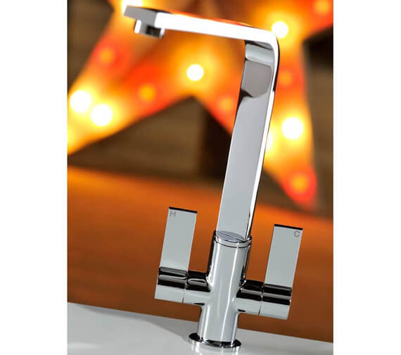 Additional image of Abode Linear Flair Monobloc Kitchen Mixer Tap
