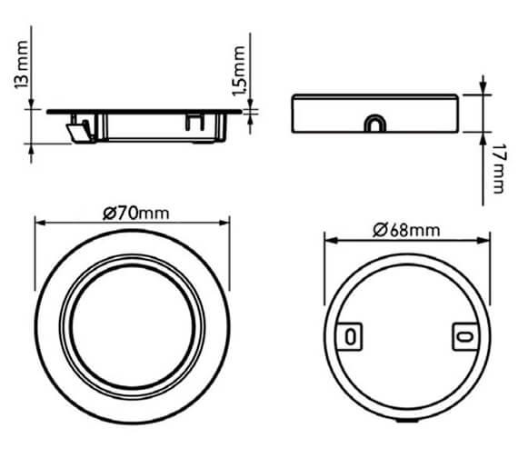 Technical drawing QS-V88756 / SE9006HDCW