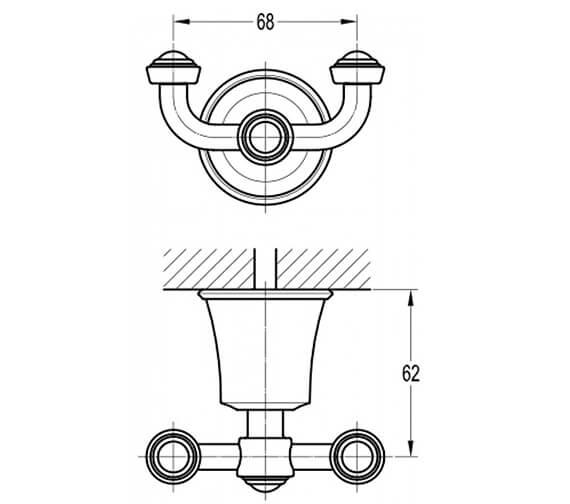 Technical drawing QS-V101032 / LI8988