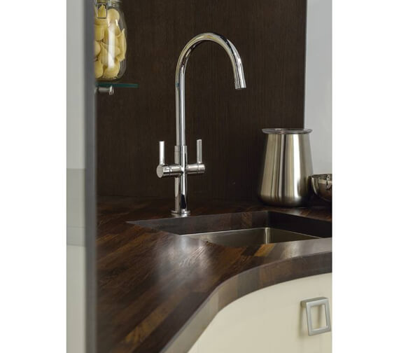 Additional image of Abode Linear Style Monobloc Kitchen Mixer Tap