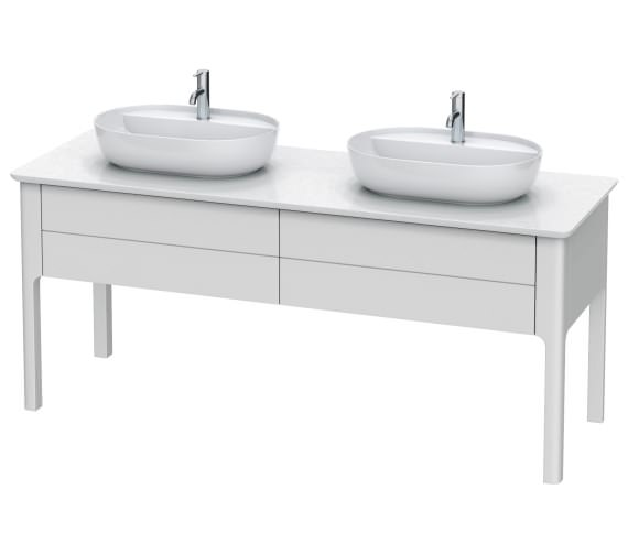 Duravit Luv 1783 x 570mm 2 Compartment Vanity Unit