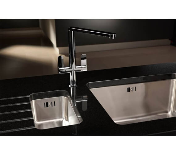 Additional image of Abode Linear Monobloc Kitchen Mixer Tap
