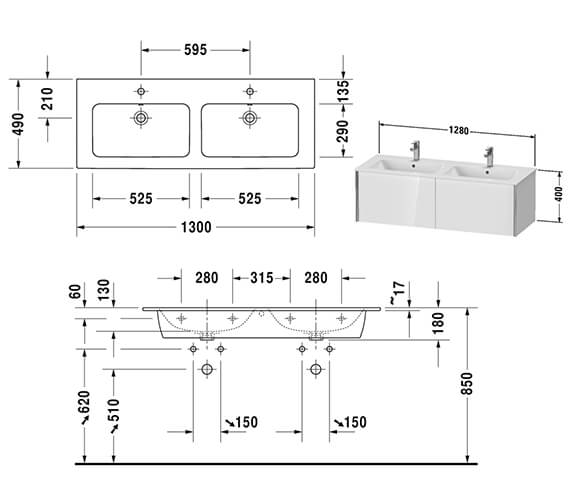 Technical drawing QS-V42539 / XV40290B118