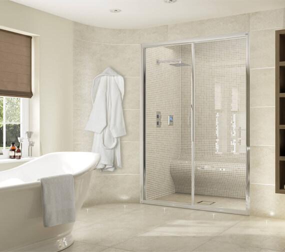 Aqata Exclusive ES300 Sliding Shower Door For Recess Installation