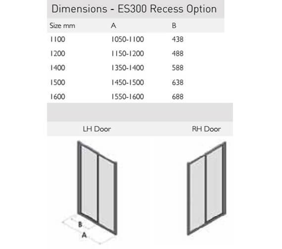 Technical drawing QS-V100167 / ES300-1100LHD