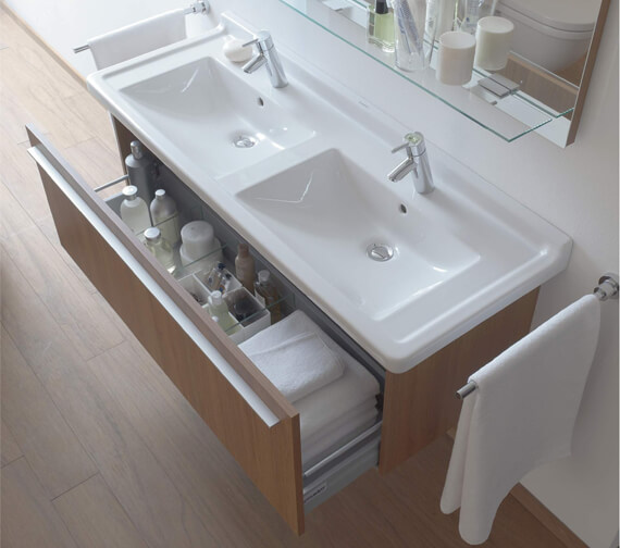Additional image of Duravit X-Large 1200mm Vanity Unit With 1 Compartment For Starck 3 Basin