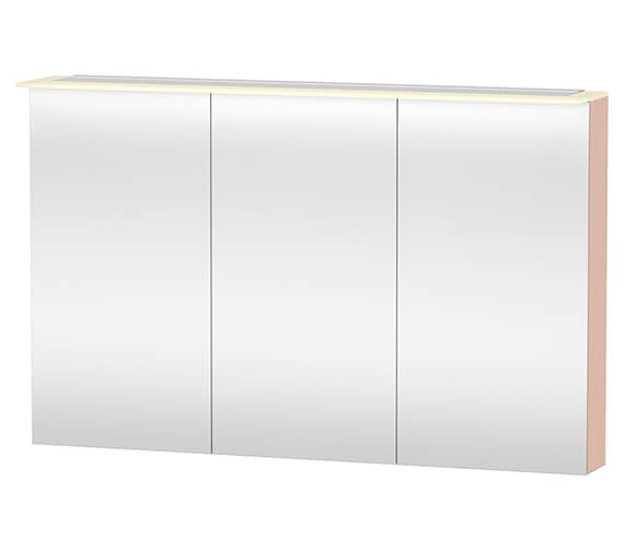 Alternate image of Duravit X-Large 1200 x 760mm 3 Door Mirror Cabinet With LED Lighting