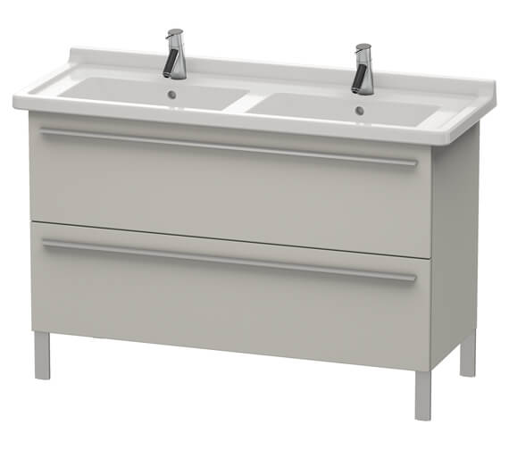 Duravit X-Large 1200mm 2 Pull-Out Compartment Unit For Starck 3 Basin