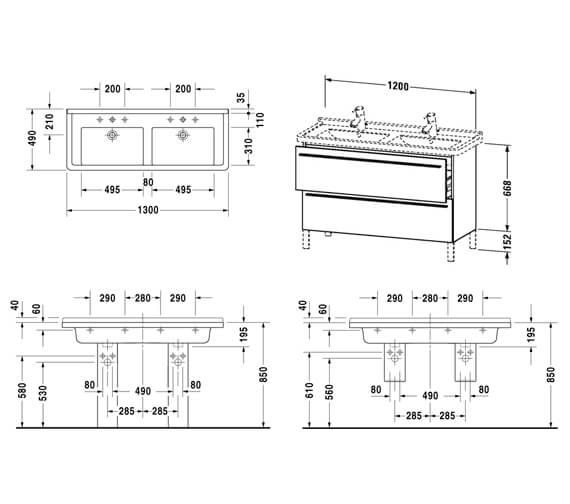 Technical drawing QS-V4422 / XL653800707