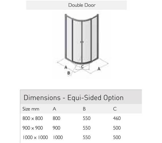 Technical drawing QS-V100168 / ES360-8x8DD