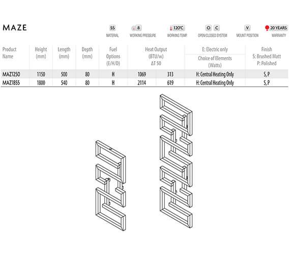 Technical drawing QS-V96249 / MAZ1250S