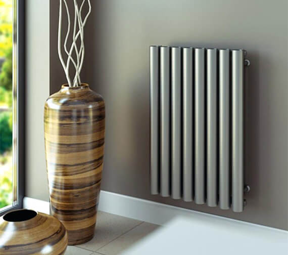 Aeon Mystic E Wall Mounted Stainless Steel Designer Radiator