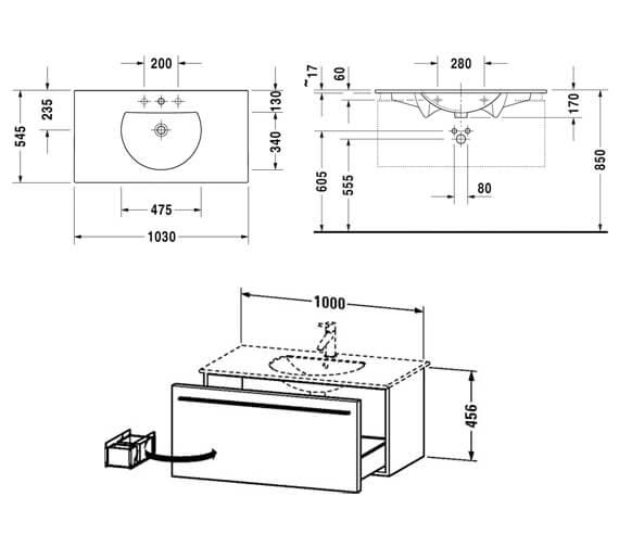 Technical drawing QS-V52871 / XL606000909