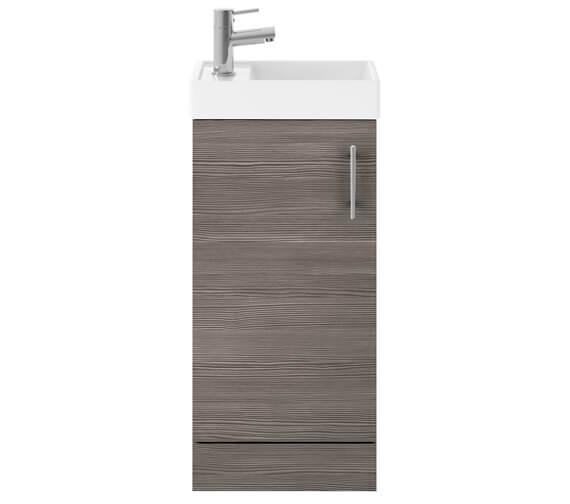 Alternate image of Nuie Vault 400mm Single Door Floor Standing Unit With Basin