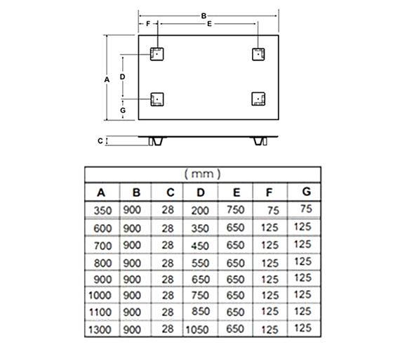 Technical drawing QS-V55597 / 812180000