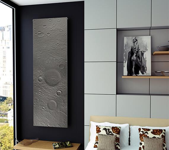 Aeon Planet Moon 605 x 1810mm Wall Mounted Aluminium Designer Radiator