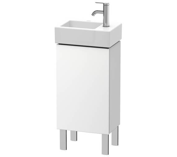 Duravit L-Cube 364mm Wide Floor Standing Vanity Unit For Vero Air Basin