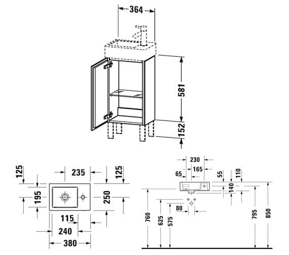Technical drawing QS-V88813 / LC6793L1818