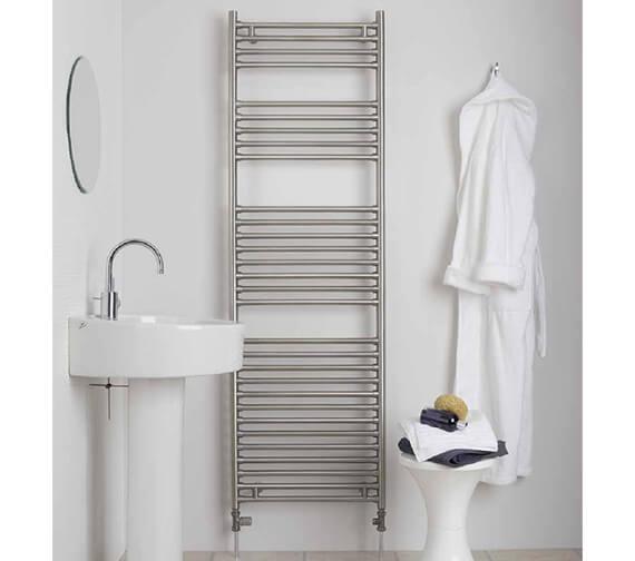 Aeon Seren 550mm Wide Stainless Steel Towel Rail